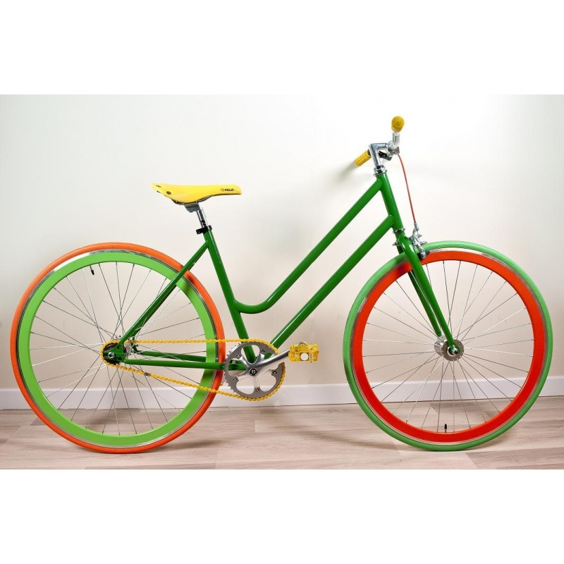 Bicicletta Fixed Evergreen