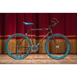 Bici Fixed F.Troiano BLUE SHADOW