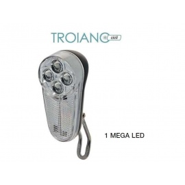 Fanale a Batterie 4 Mega LED