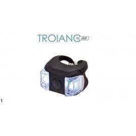 Fanalino Anteriore LED in Silicone Ring