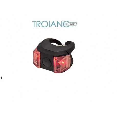 Fanalino Posteriore LED in Silicone Ring
