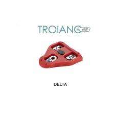 Coppia Tacchette Look Delta Rosso
