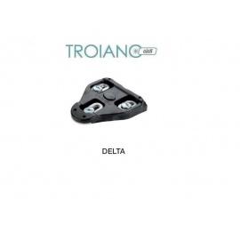 Coppia Tacchette Look Delta Nero