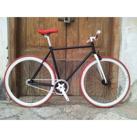 Bici Fixed FT White Collar