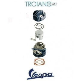 Cilindro Completo Vespa / Ape 50 modifica Ø 47 a 3 travasi cc 70