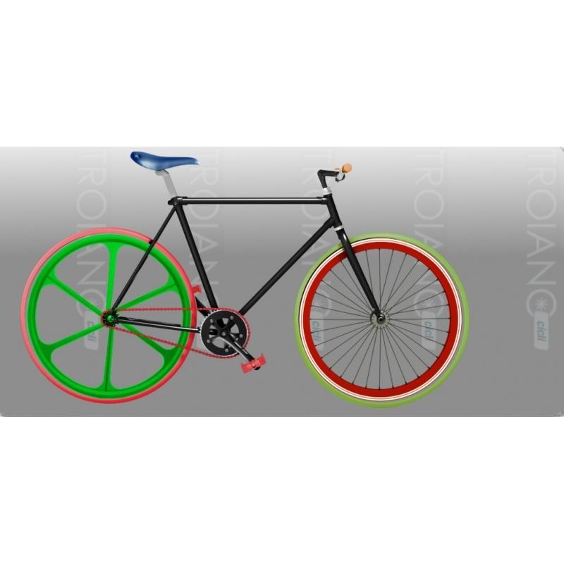 Bicicletta Single Speed All Color