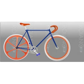 Bici Fixed FT Orange Juicy