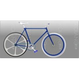 Bici Fixed FT Deep Blu