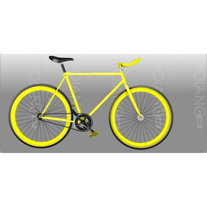 Bici Fixed Ft Shocking Yellow