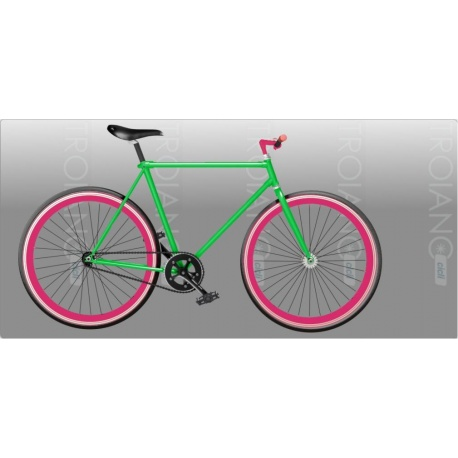 Bici Fixed FT Shocking Green