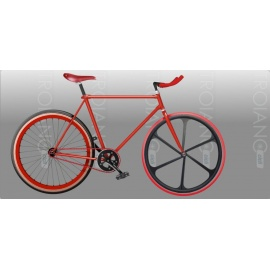 Bici Fixed FT RedDevil